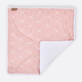 image-White Thin Diamonds Changing Mat KraftKids Colour: Pink