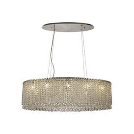 image-10-Light Crystal Chandelier Willa Arlo Interiors
