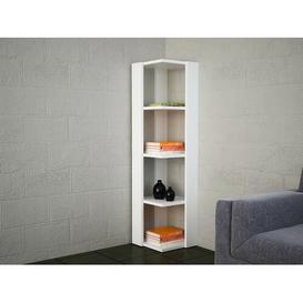 image-Kraig Corner Bookcase Ebern Designs