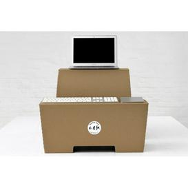 image-Laguna Standing Desk Symple Stuff Colour: Lightbrown, Size: 45cm H x 45cm W x 27cm D