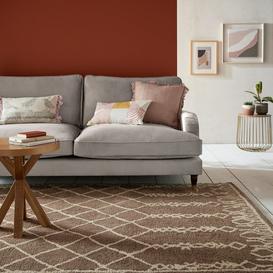 image-Salma Moroccan Wool Shaggy Rug Salma Natural