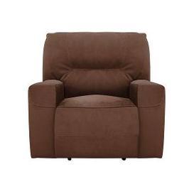 image-Eden Fabric Recliner Armchair