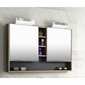image-Raiden 120cm x 75cm Surface Mount Mirror Cabinet