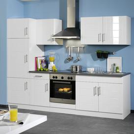 image-Ulysses Kitchen Pantry Brayden Studio Colour (front): Glossy white, Colour (body): White, Colour (countertop): Charcoal