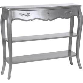 image-Console Table Fleur De Lis Living Colour: Argent