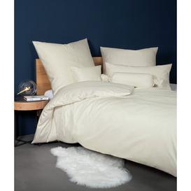 image-Colors Square Pillowcase Janine Colour: Beige, Size: 40 cm H x 40 cm W
