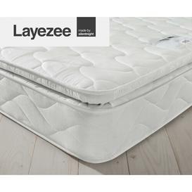 image-Layezee Pillow Top Open Coil Mattress Silentnight Size: Kingsize (5')