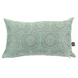 image-Chilton Cushion with filling Bloomsbury Market Colour: Light Blue