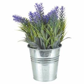 image-Artificial Lavender Desktop Plant in Pot Symple Stuff