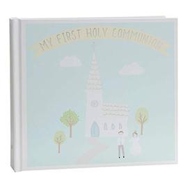 "image-""4"""" x 6"""" - Faith & Hope 1st Communion Photo Album - Blue"""