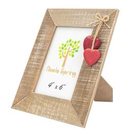 image-Heart Picture Frame Nicola Spring Colour: Red