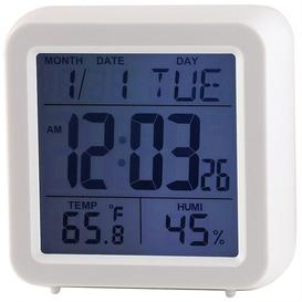 image-Chadwick Multi Function Digital Alarm Clock Ebern Designs Finish: White