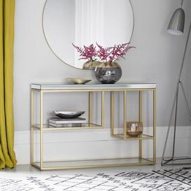 image-Gallery Pippard Champagne Console Table