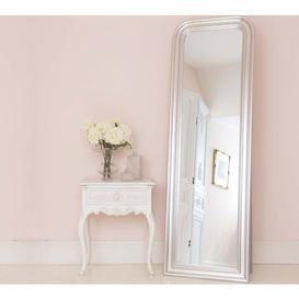 image-Sterling Silver Free Standing Mirror - Full Length Mirror