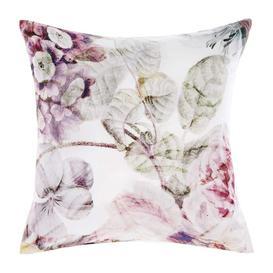 image-Large Full Floral Cushion - Botanical Cushion