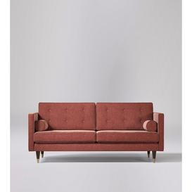 image-Swoon Porto Two-Seater Sofa in Pimpernel Smart Wool