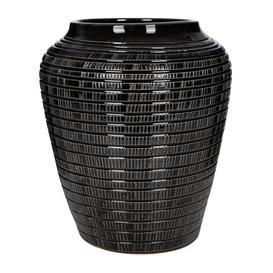 image-Bergs Potter - Willow Vase - Black - 25cm