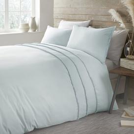 image-Duvet Cover Set Marlow Home Co. Size: Single, Colour: Duck Egg Blue