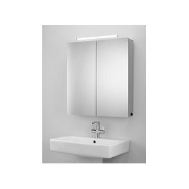 image-John Lewis & Partners Debut Double Mirrored and Illuminated Bathroom Cabinet