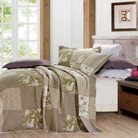 image-Liggett Bedspread Set with a pillow Lily Manor Size: Single