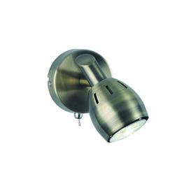 image-SP9011 Lazio 1 Light Wall Light In Bronze With Fully Adjustable Spotlights