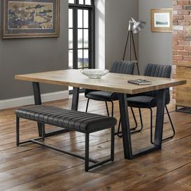 image-Set Of Moser Table, Soho Bench & 2 Soho Chairs Williston Forge