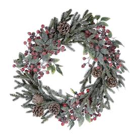 image-A by AMARA Christmas - Snow Berries & Pinecone Wreath