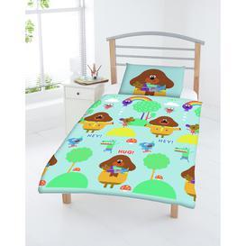 image-Hey Duggee Kids Green Cotton Bedding Set - Toddler