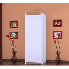 image-Montalvo 1 Door Wardrobe