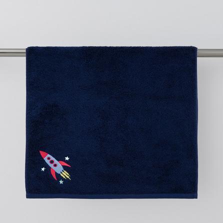 image-Space Blue Towel Blue