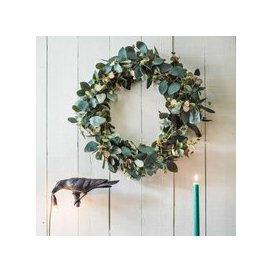image-Faux Eucalyptus Wreath