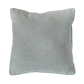 image-Grey Textured Piped Cushion