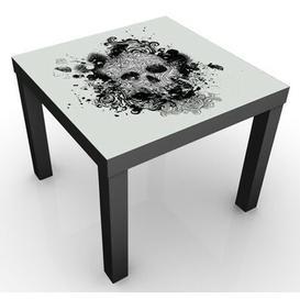 image-Skull Children's Table Happy Larry Colour: Black