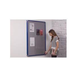 image-Smartshield Tamperproof Noticeboard, Aluminium/Grey