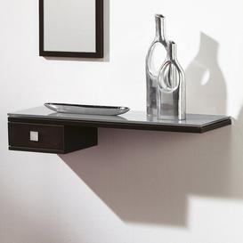 image-Francina Wall Shelf Ebern Designs Finish: White