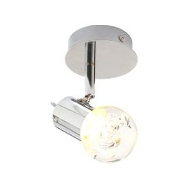 image-Spa Bubble LED Bathroom Spotlight Chrome