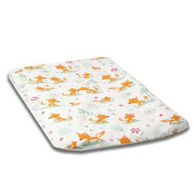 image-Sweet Foxes Changing Mat Cover MilleMarille Size: 50 cm W x 70 cm D