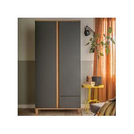 image-Vox Altitude Double Wardrobe - Graphite