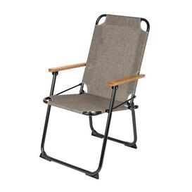 image-Fia Folding Camping Chair Dakota Fields Colour: Taupe