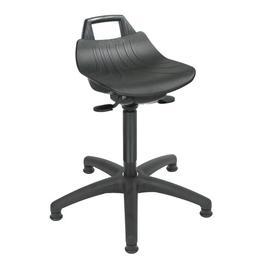 image-Height-adjustable office stool Symple Stuff Size: 81cm H x 63cm W x 63cm D