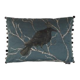 image-Voyage Maison - Monarch Cushion - 65x45cm - Teal