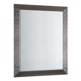 image-Brian Overmantle Mirror in Silver