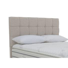 image-Sleepeezee - Aspen Floor Standing Headboard - Double - Grey