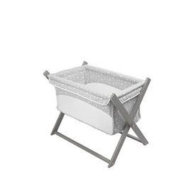 image-Clair De Lune Star Folding Breathable Crib