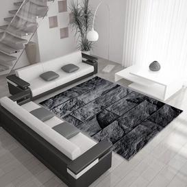 image-Mckamey Black Indoor / Outdoor Rug Mercury Row Rug Size: Rectangle 200 x 290cm