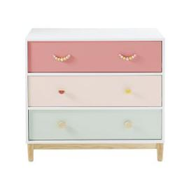 image-Children's Chest of 3 Drawers Tropicool