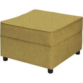 image-Newbury Footstool Mercury Row Upholstery: Charles Olive