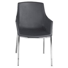 image-Kelton Dining Chair Wade Logan Seat Colour: Orange