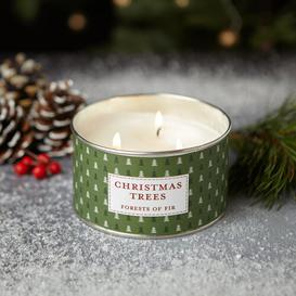image-Noel Christmas Trees Scented Jar Candle The Country Candle Company