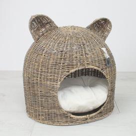 image-Kubu Rattan Cat Bed Archie & Oscar